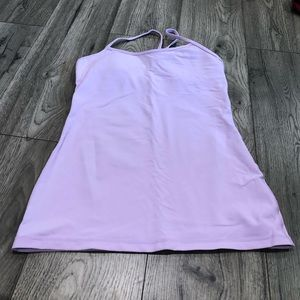 Lululemon Power Y Tank in Lilac Purple Size 8